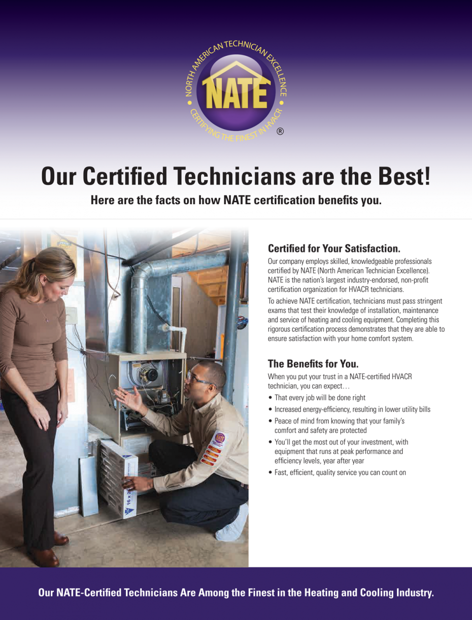 Jebco hvac nate certified technicians nate certified technicians 1betcityfo Images